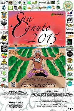 San Canuto 2015, ACMEFUER, Fuerteventura and three awards to Reggae Seeds in different categories.