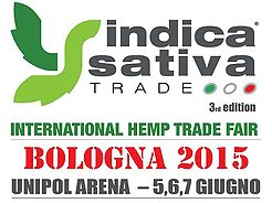 We visited the fair at Indica Sativa Trade in Bolgna, Italy.