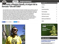 "Interview with Reggae Seeds, home of the so-called ""CBD wave"""